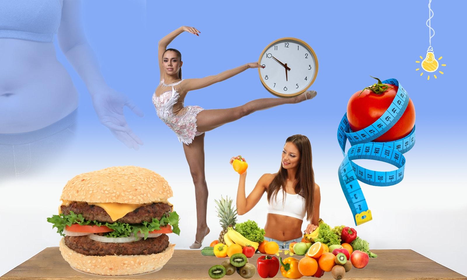 Диета зигзаг: новая эффективная диета.