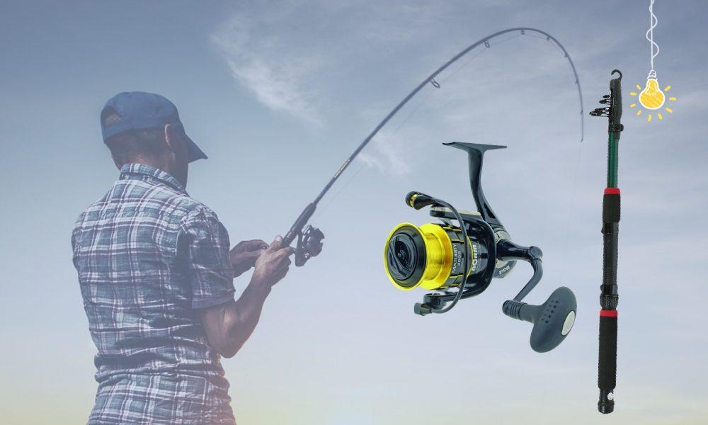 Удочка для летней рыбалки