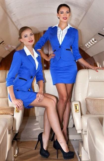 Выбор женской профессии: стюардесса
