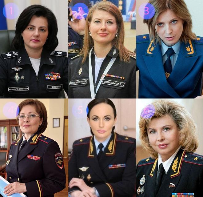 Женщины-генералы в России