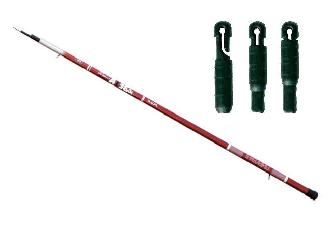 Маховая удочка для летней рыбалки