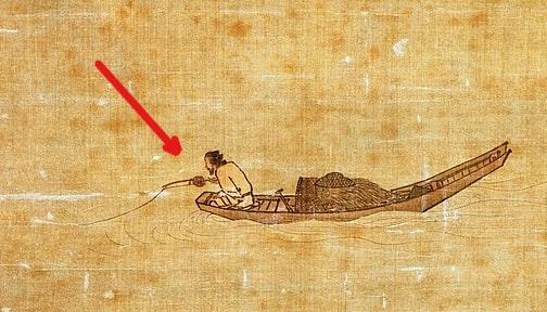 Самая старая рыболовная катушка