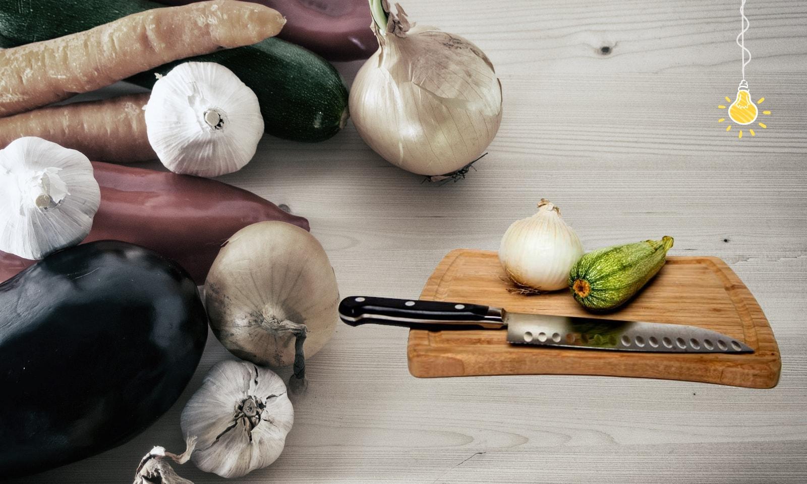 Кухонные лайфхаки: хранение, нарезка, очистка