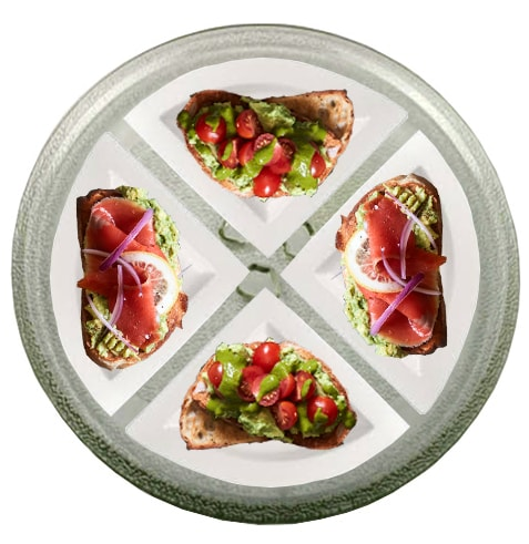 Лайфхаки с микроволновкой: тарелки